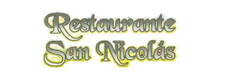 Restaurante San Nicolás