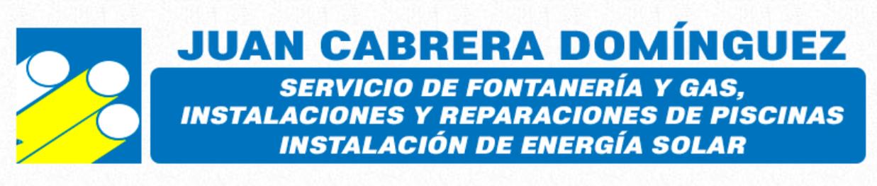 Fontanería Juan Cabrera Domínguez