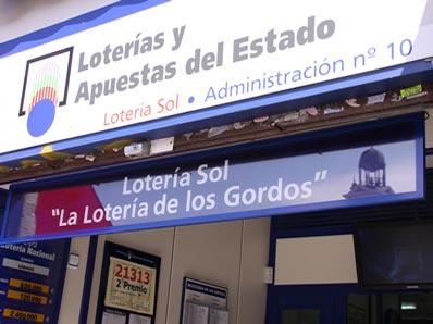 Lotería De Los Gordos - Lotería Sol Administración Número 10 2