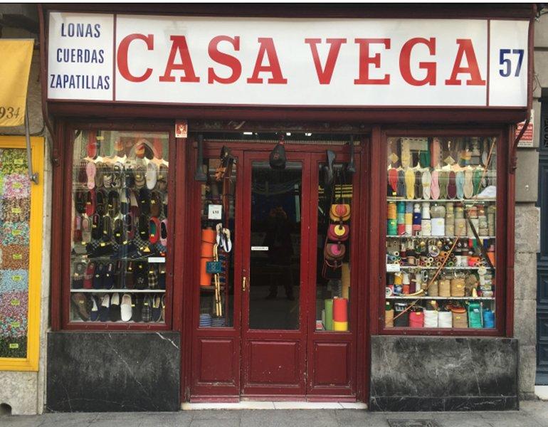 Casa vega madrid calle toledo 57 alpargatas p ginas amarillas - Casa vega madrid ...
