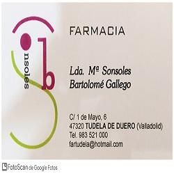 Farmacia Sonsoles Bartolomé