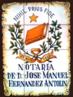 Notaría D. José Manuel Hernández Antolín