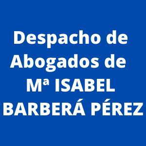 Despacho de Abogados de Mª Isabel Barberá Pérez