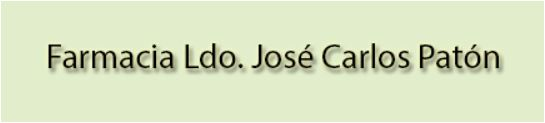 Farmacia José Carlos Patón García - Donas