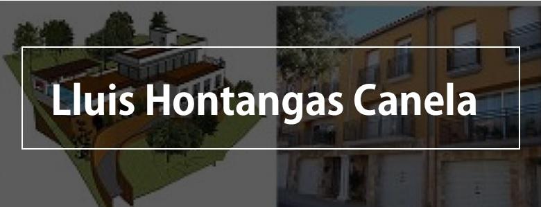 Arquitecte Lluis Hontangas Canela