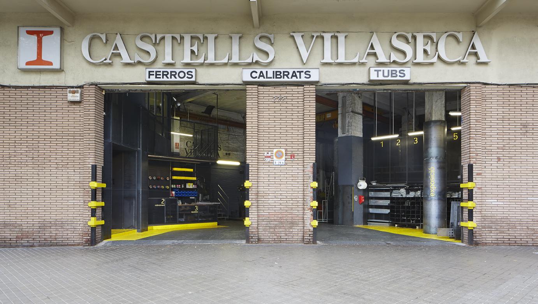 Castells Vilaseca HIERRO: ALMACENES