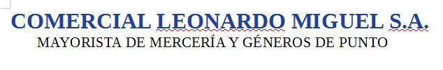 Comercial Leonardo Miguel S.A.