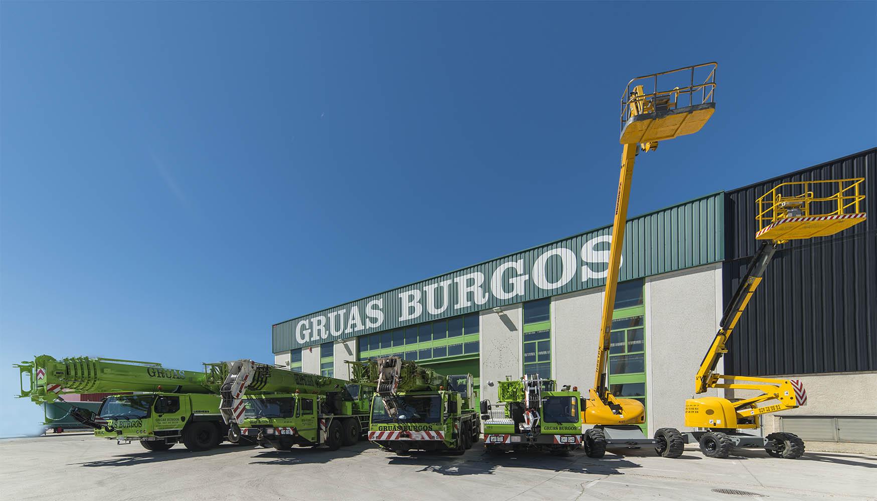 Grúas Burgos