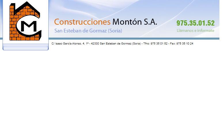 Construcciones Montón S.A.