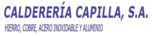 Calderería Capilla