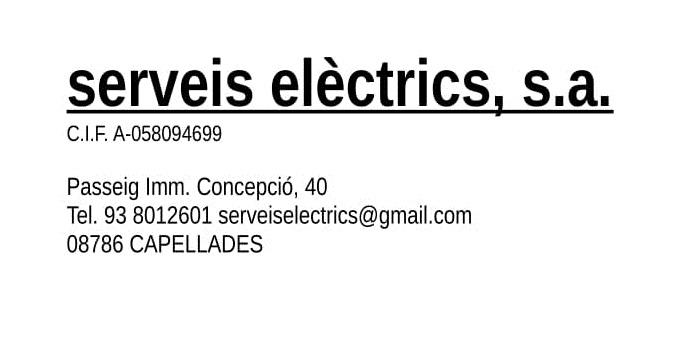 Serveis Electrics S.A.