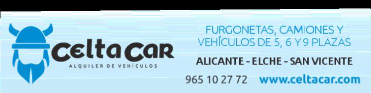 Celta Car S.L. Alquiler furgonetas y camiones Alicante