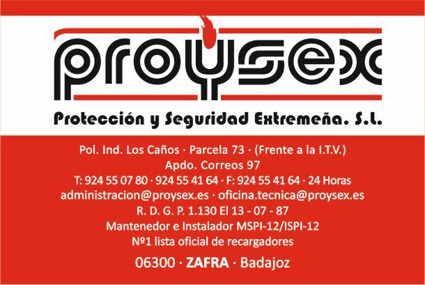 PROYSEX Protección y Seguridad Extremeña