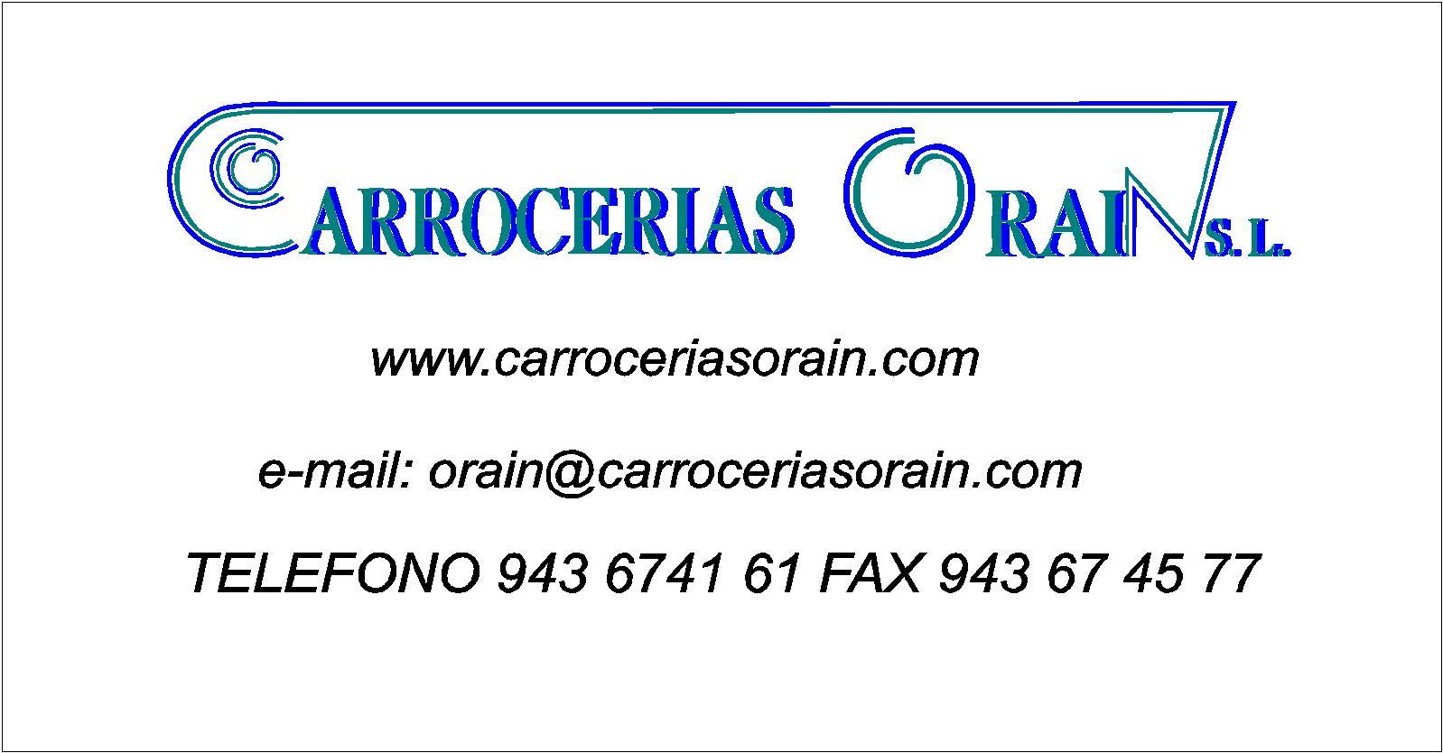 Carrocerías Orain