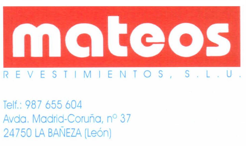 Mateos Revestimientos S.L.