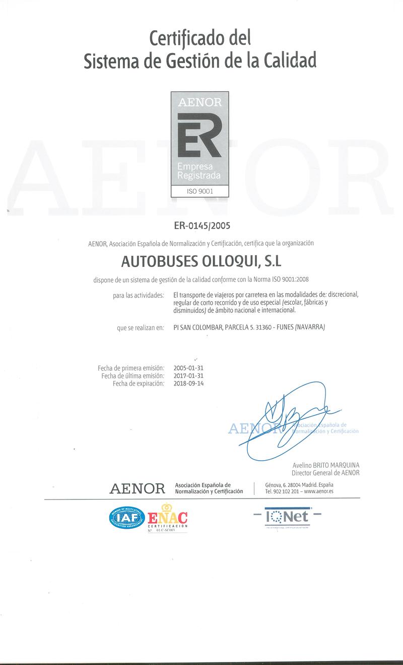 Autobuses Olloqui AUTOCARES: SERVICIOS Y ALQUILER