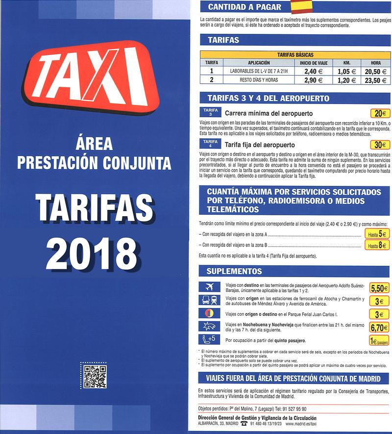 Taxi Aeropuerto Madrid Madrid