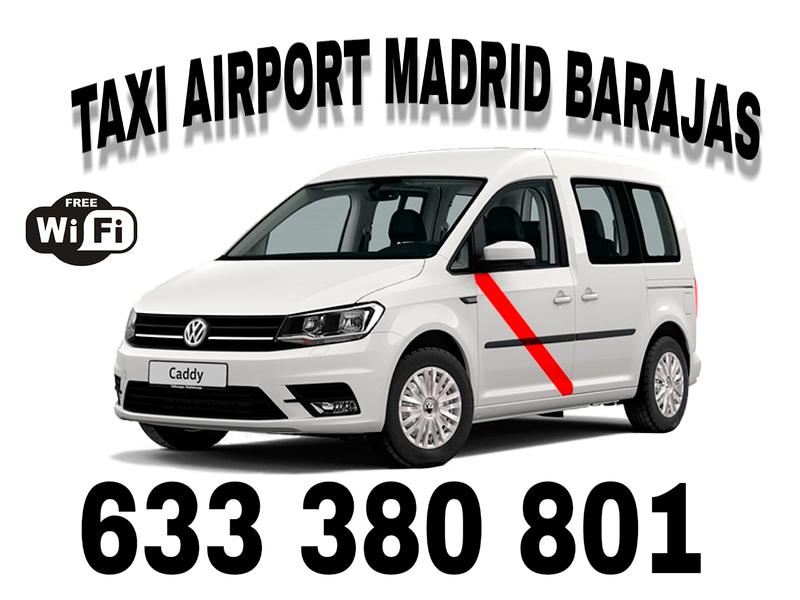 Taxi Aeropuerto Madrid 12