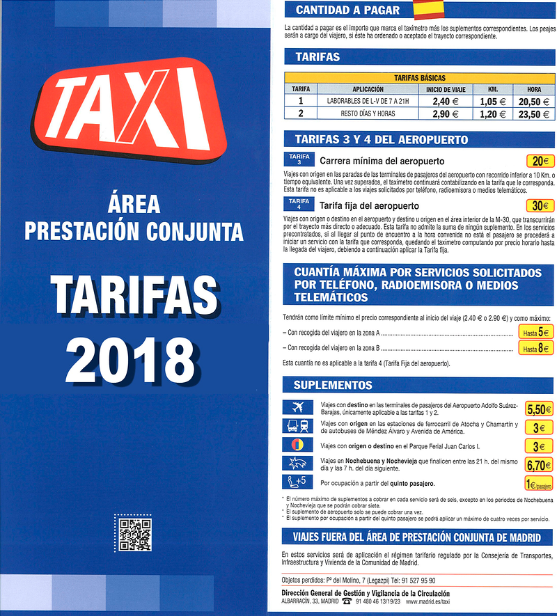 Taxi Aeropuerto Madrid 13