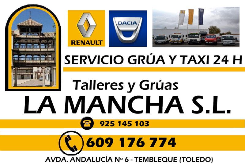TALLERES Y GRÚAS LA MANCHA