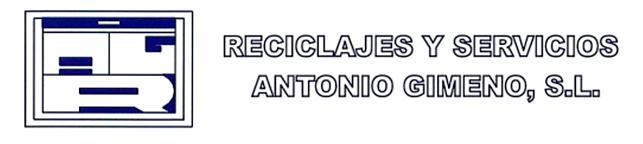 RECICLAJES Y SERVICIOS ANTONIO GIMENO