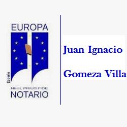 Notaría Juan Ignacio Gomeza Villa