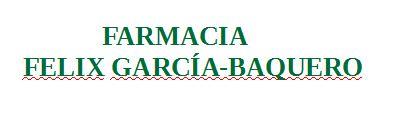 Farmacia Felix García-Baquero Urbiola