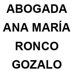 Abogada Ana María Ronco Gozalo