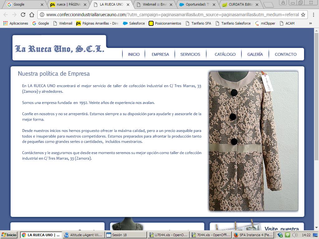 Confecciones La Rueca Uno S. Coop. Ltda