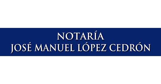 Notaría José Manuel López Cedrón