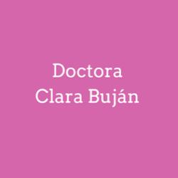 Doctora Clara Buján Díaz
