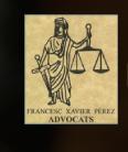 ADVOCATS FRANCESC XAVIER PÉREZ