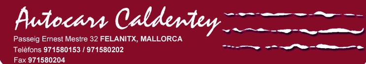 Autocars Caldentey