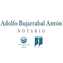Notario Adolfo Bujarrabal Antón
