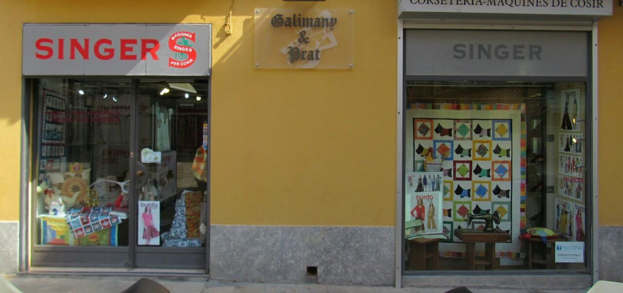 Galimany & Prat MÁQUINAS DE COSER