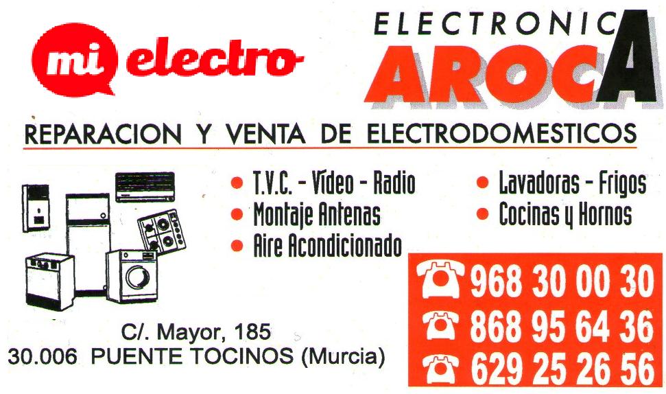 Electrodomésticos Aroca