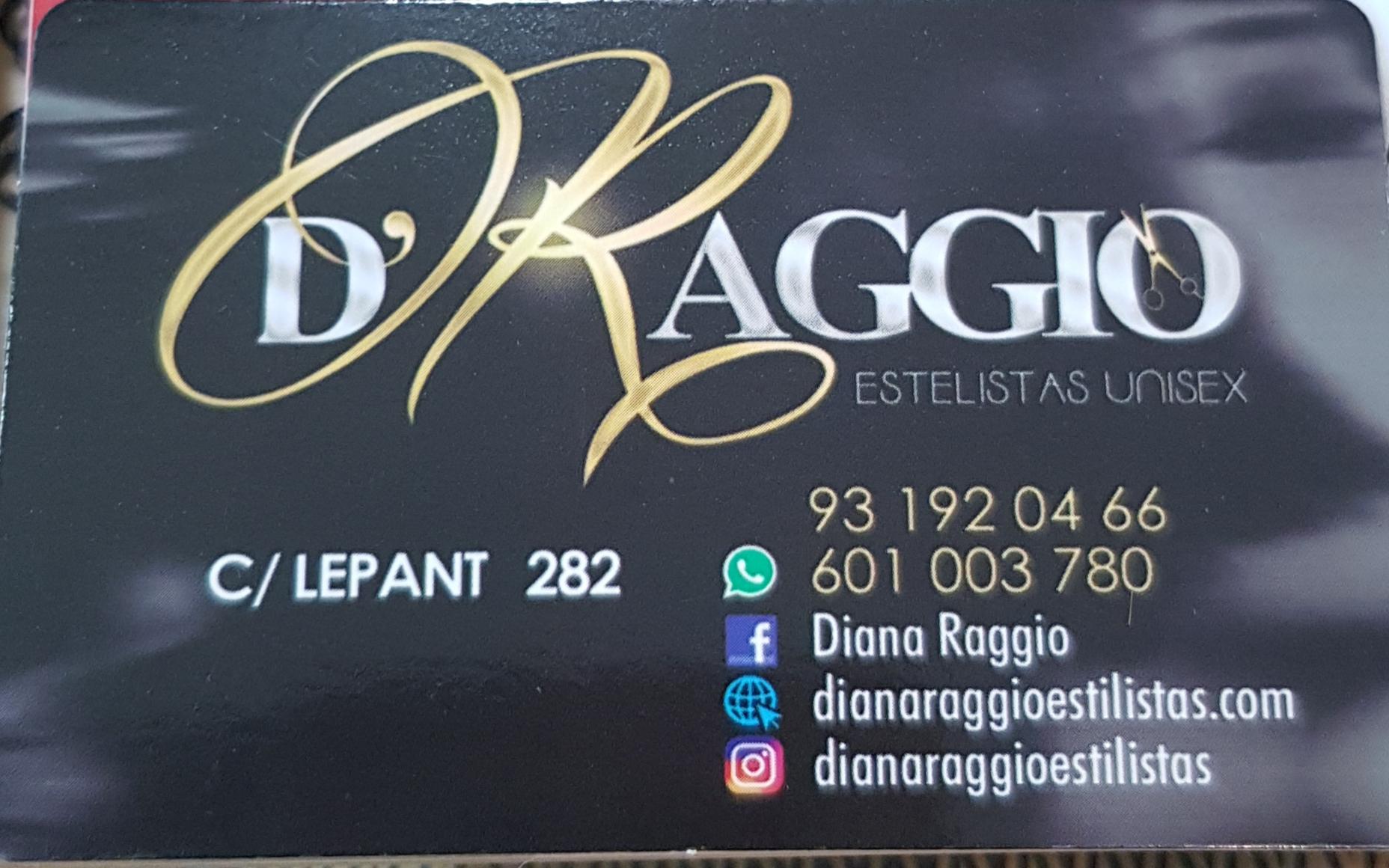 Peluqueria Diana Raggio. En Barcelona.
