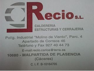 Calderería Recio
