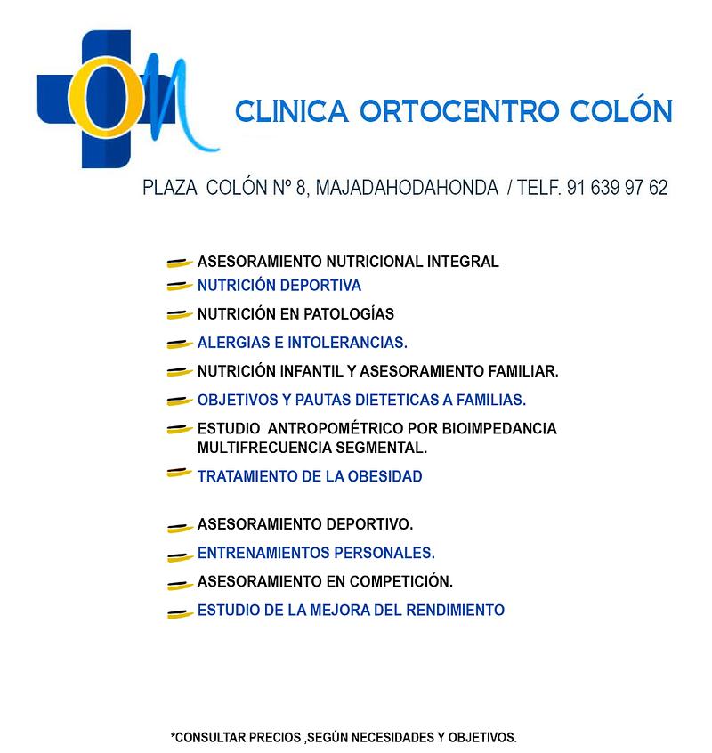 Ortocentro Majadahonda Ortopedia y Ortocentro Colon Clínica 13