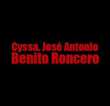 Cyssa. José Antonio Benito Roncero
