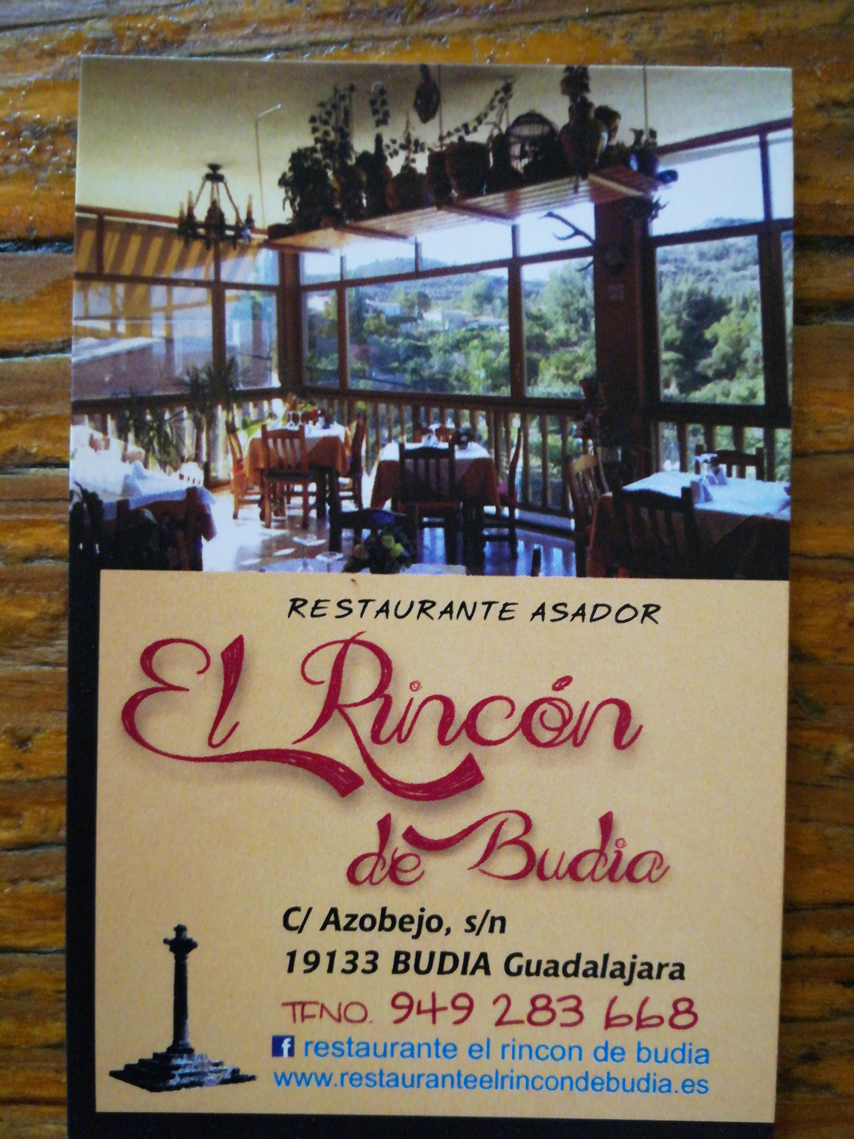 Restaurante El Rincón de Budia