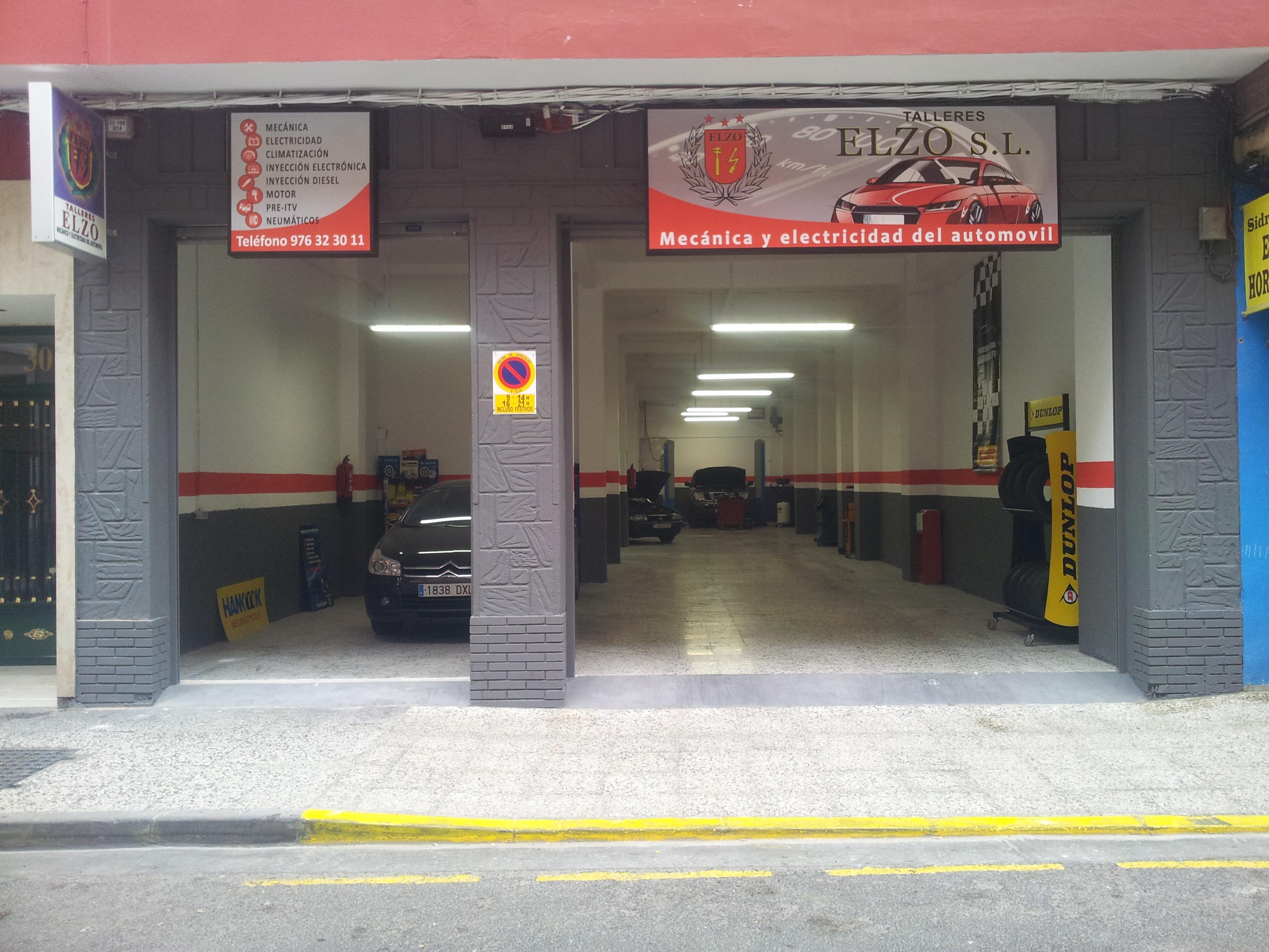Talleres elzo zaragoza pamplona escudero 30 32 local derecha talleres mecanicos para - Fachadas de talleres ...