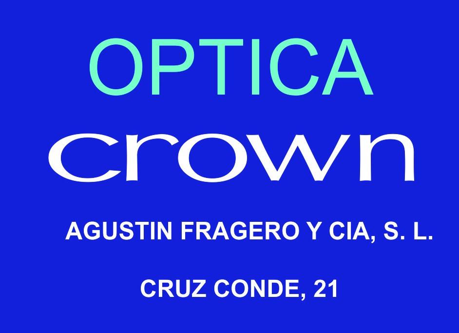 Óptica Crown - Agustín Fragero y CIA