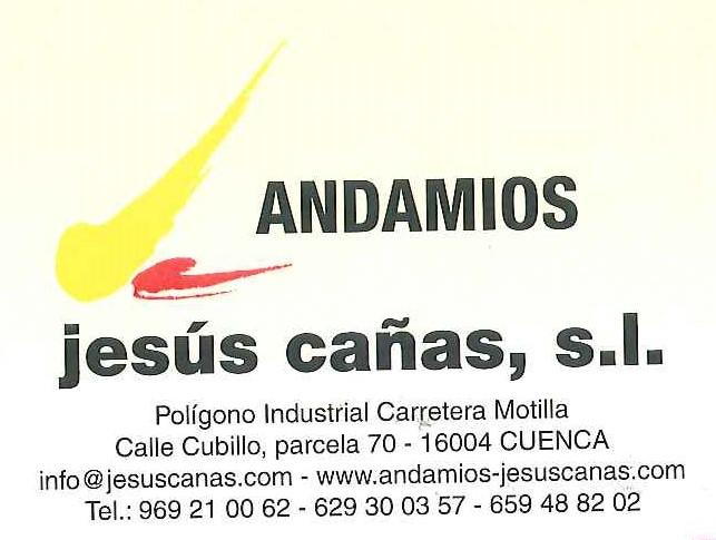 Andamios Jesús Cañas