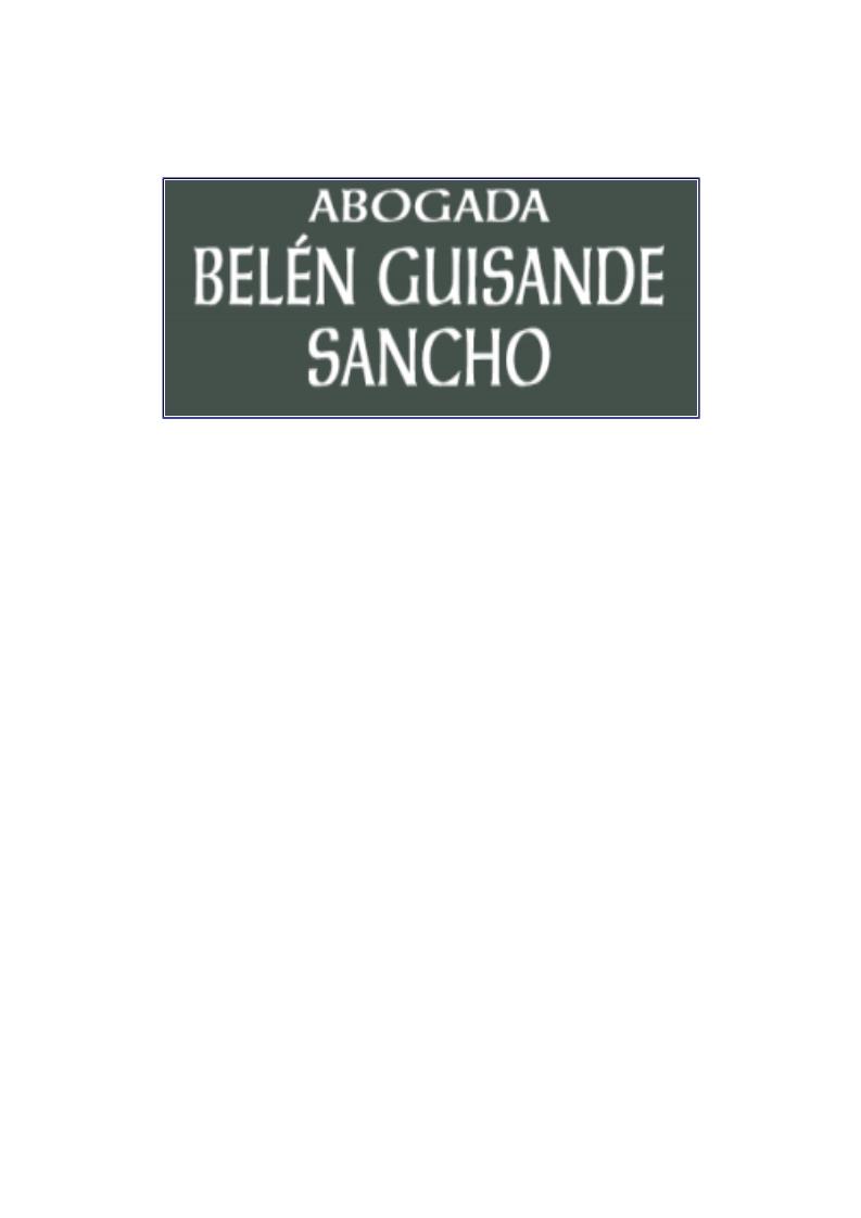 Belén Guisande Sancho