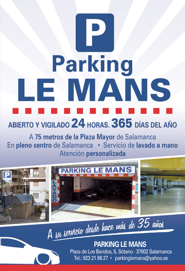 Parking LE MANS - Salamanca Centro