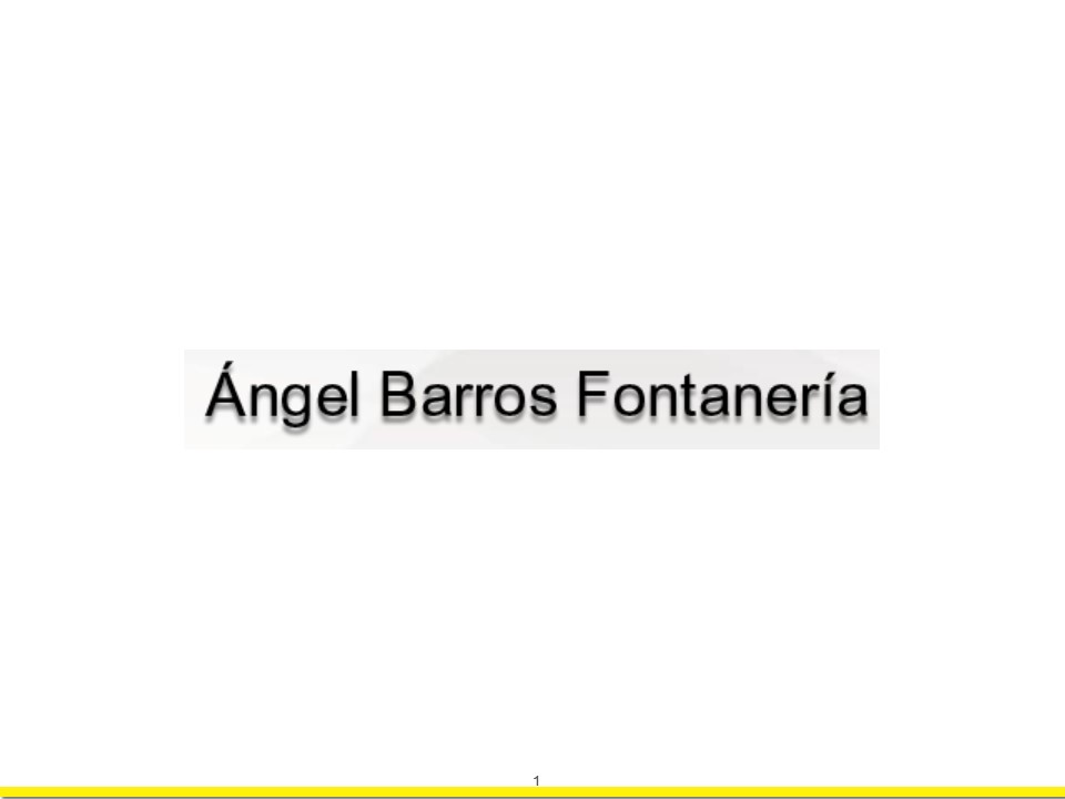Angel Barros Fontaneria