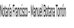 Notaría Francisco - Manuel Botana Torrón