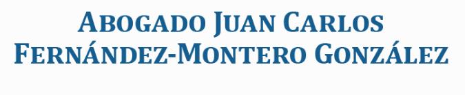 Abogado Juan Carlos Fernández - Montero González