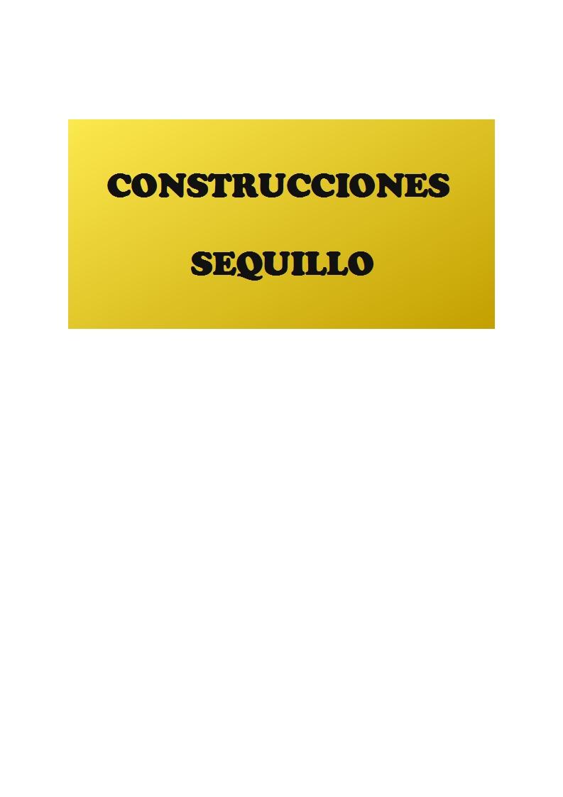 Construcciones Sequillo